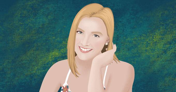 Portrait of advocate Catherine