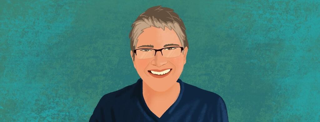 Portrait of advocate Julie
