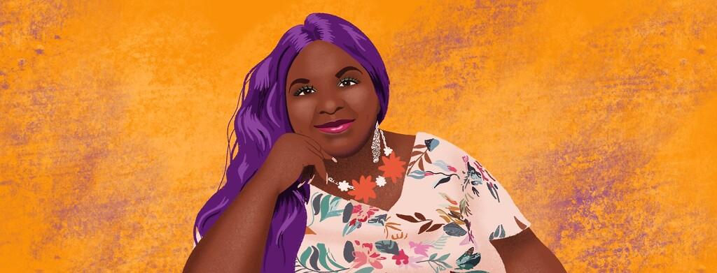 Portrait of advocate Leya
